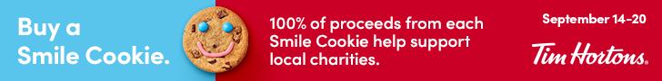 Tim Horton's Smile Cookie Campaign