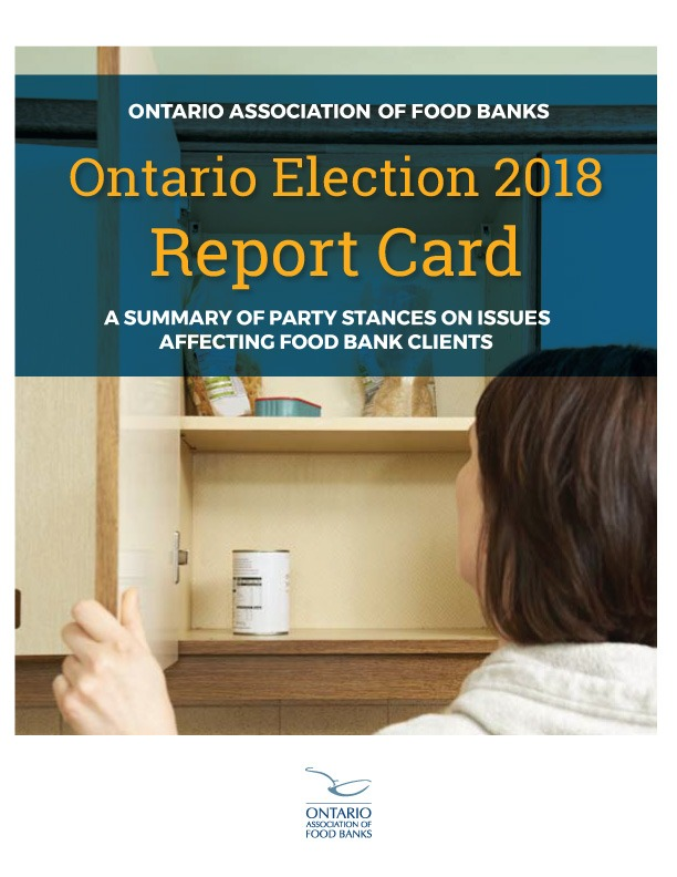 Ontario Election 2018 Report Card