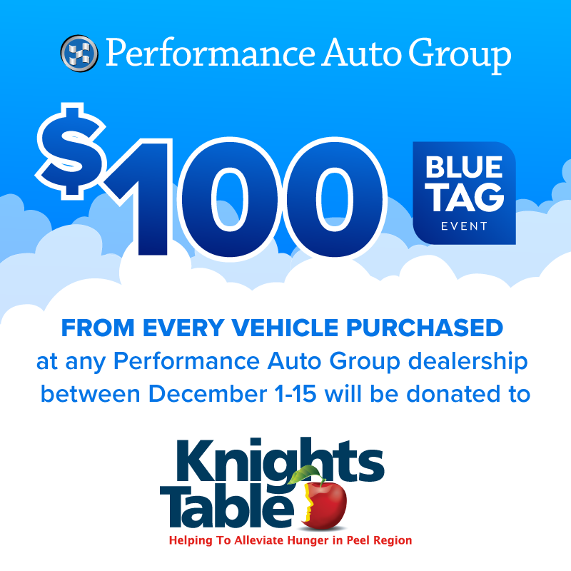 Knights Table is driving change with Performance Auto Group to help alleviate hunger in Peel