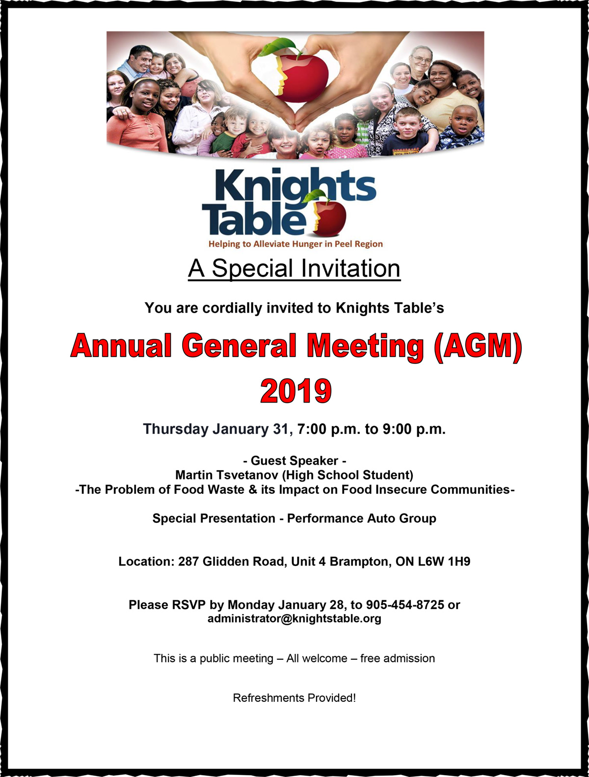 Annual General Meeting (AGM) 2019