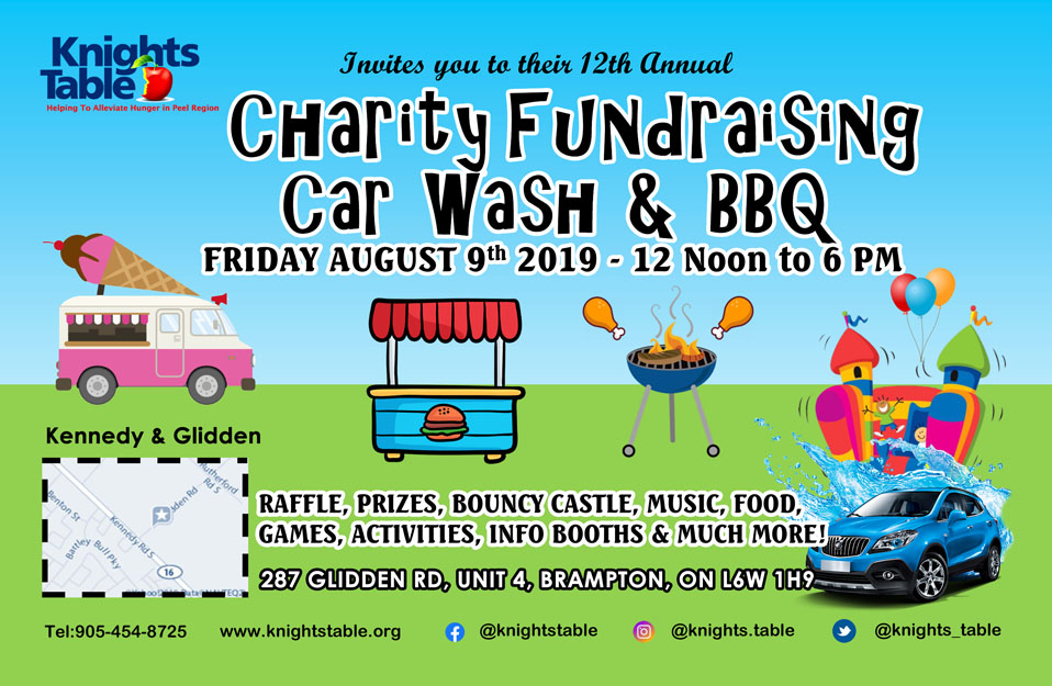 Annual Charity Car Wash & BBQ